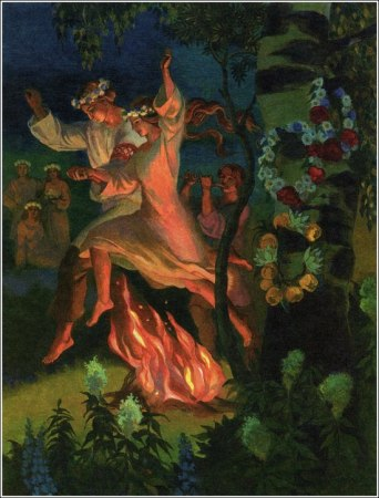 a beltane eve fire