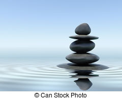 zen-stones-in-water-pictures_csp8521438